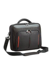 TARGUS - Targus Classic+ Clamshell Case 15,6'' czarno-czerwona. Kolor: wielokolorowy, czerwony, czarny