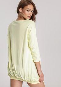 Renee - Żółta Bluza Criameia. Kolor: żółty #3