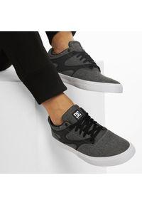 Szare buty sportowe DC na co dzień, z cholewką