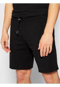 Guess Szorty sportowe M1GD54 K6ZS1 Czarny Slim Fit. Kolor: czarny