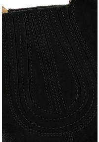 Czarne botki kowbojki Arturo Vicci z cholewką, klasyczne #7