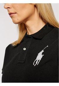 Polo Ralph Lauren Polo 211505656 Czarny Skinny Fit. Typ kołnierza: polo. Kolor: czarny