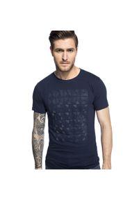 T-shirt Giacomo Conti w geometryczne wzory
