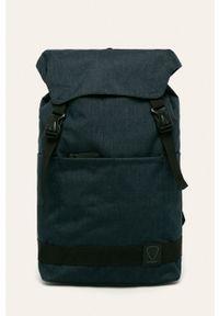 Niebieski plecak Strellson w paski
