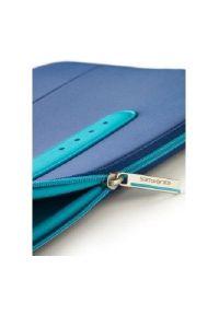 Niebieskie etui na laptopa Samsonite w kolorowe wzory