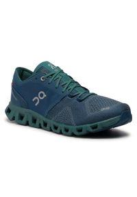 Niebieskie buty do biegania On