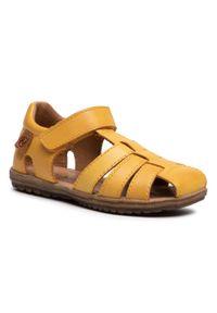 Żółte sandały Naturino