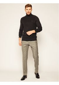 Czarny golf Calvin Klein Jeans z golfem