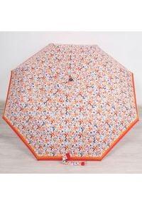 Parasol składany DOPPLER PA136 pomarańczowy. Kolor: pomarańczowy. Materiał: materiał