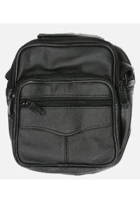 Czarna torba na ramię Casu