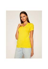 Żółty t-shirt Tommy Jeans