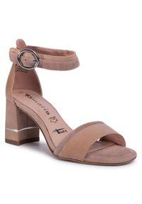 Beżowe sandały Tamaris casualowe, na co dzień