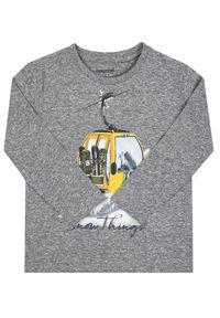 Szary t-shirt Mayoral