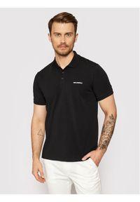 Karl Lagerfeld - KARL LAGERFELD Polo 745015 511221 Czarny Regular Fit. Typ kołnierza: polo. Kolor: czarny