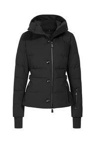 Czarna kurtka elegancka, z aplikacjami