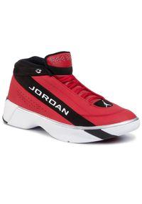 Czerwone buty do koszykówki Nike