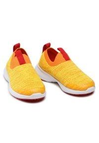 Reima - Sneakersy REIMA - Bouncing 569413-2440 Mango 2440. Kolor: żółty. Materiał: materiał. Szerokość cholewki: normalna