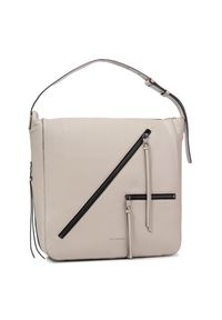 Beżowa torebka klasyczna Karl Lagerfeld klasyczna