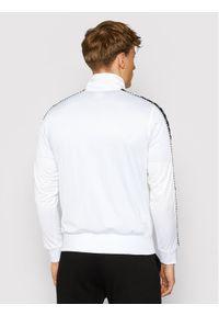 Kappa Bluza Imanuel 309007 Biały Regular Fit. Kolor: biały