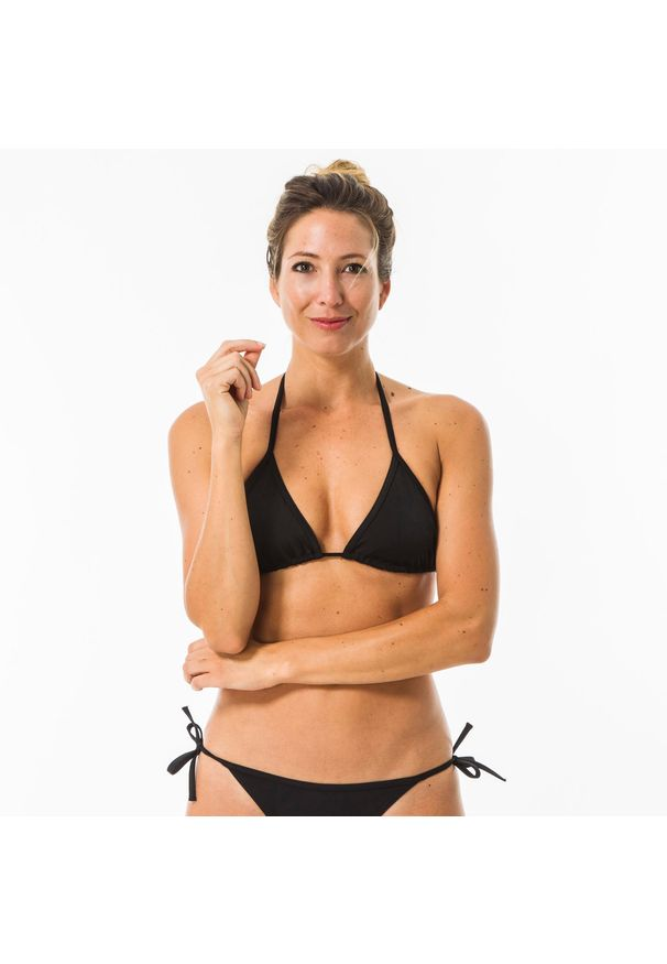 OLAIAN - Góra kostiumu kąpielowego MAE damska. Kolor: czarny. Materiał: poliester, elastan, poliamid, materiał