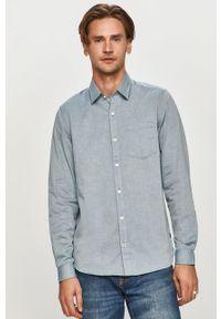 Niebieska koszula s.Oliver klasyczna, długa