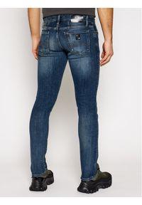 Armani Exchange Jeansy Skinny Fit 6HZJ14 Z1RBZ 1500 Niebieski Skinny Fit. Kolor: niebieski