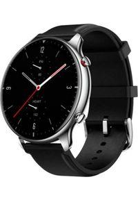 Czarny zegarek Xiaomi smartwatch