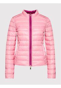 Patrizia Pepe Kurtka puchowa CS0178/A503-J9P6 Różowy Slim Fit. Kolor: różowy. Materiał: puch