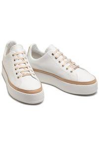 Białe buty sportowe Max Mara
