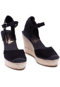 Czarne sandały Vidorreta casualowe, na co dzień