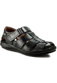 Czarne sandały Pikolinos na lato, klasyczne