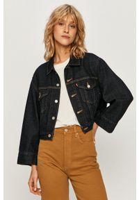 Levi's® - Levi's - Kurtka jeansowa. Okazja: na spotkanie biznesowe. Kolor: niebieski. Materiał: jeans. Styl: biznesowy
