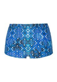 Niebieskie dół bikini Cellbes w kolorowe wzory