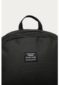 Czarny plecak DC gładki