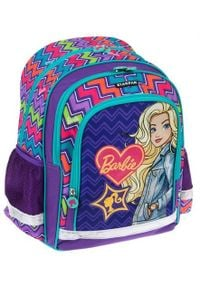 Starpak Plecak szkolny Barbie fioletowy (394112). Kolor: fioletowy