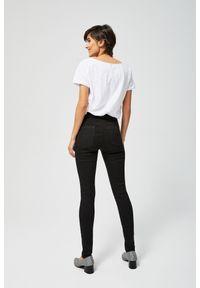 Czarne jeansy MOODO długie