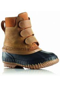 sorel - Sorel dziecięce buty CHEYANNE II STRAP Waterproof