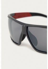 Uvex - Okulary przeciwsłoneczne Sportstyle 706. Kształt: prostokątne. Kolor: szary