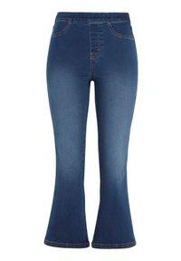 Cellbes Dżinsy z rozszerzanymi nogawkami denim female niebieski 60. Kolor: niebieski