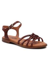 Pikolinos - Sandały PIKOLINOS - W0X-0521 Cuero. Kolor: brązowy. Materiał: skóra. Sezon: lato