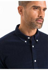 Niebieska koszula bonprix sportowa, do pracy