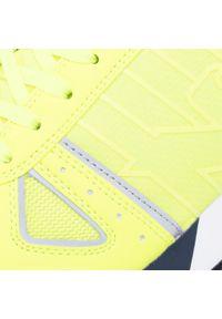 Żółte sneakersy Emporio Armani