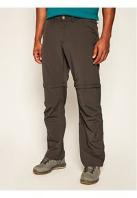 Jack Wolfskin Spodnie outdoor Canyon Zip Pff 1504191 Szary Regular Fit. Kolor: szary. Sport: outdoor