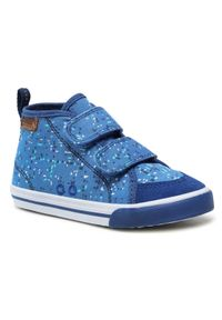 Reima Trzewiki Huvitus 569335 Niebieski. Kolor: niebieski