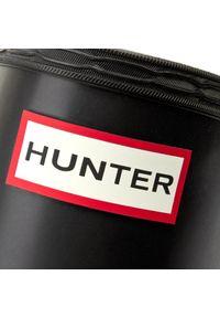 Czarne kalosze Hunter z aplikacjami