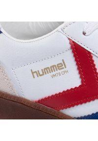 Białe półbuty Hummel z cholewką, klasyczne