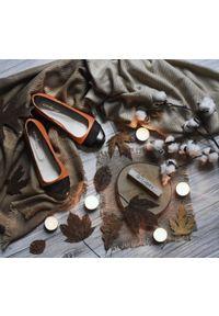 Baleriny Zapato bez zapięcia, wąskie, na imprezę