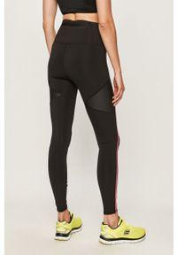 Czarne legginsy Puma z aplikacjami, z podwyższonym stanem