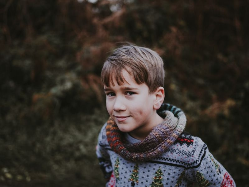 Swetry chłopięce