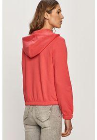 Różowa bluza rozpinana only na co dzień, casualowa